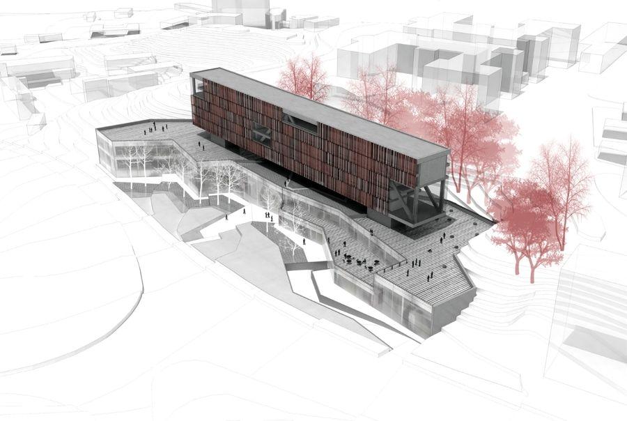 Proyecto para residencia de estudiantes en madrid for Residencia para estudiantes