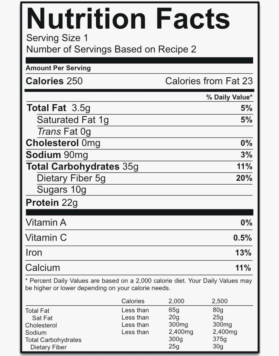 Nutrition Facts Label Template Fresh Nutrition Label Template Blank Nutrition Facts Label Nutrition Facts Nutrition Labels
