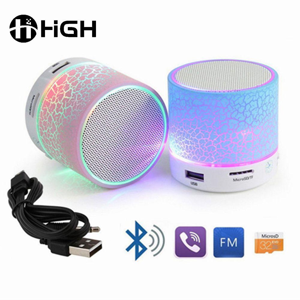 Best Portable Wireless Bluetooth Speaker With Led Light Speaker