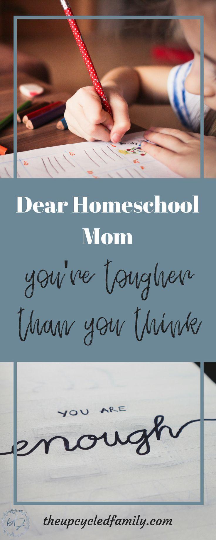 Dear Homeschool Mom | Homeschool