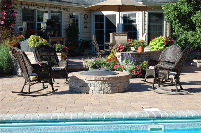 Poolside Patio | Patio, Outdoor spaces, Outdoor decor