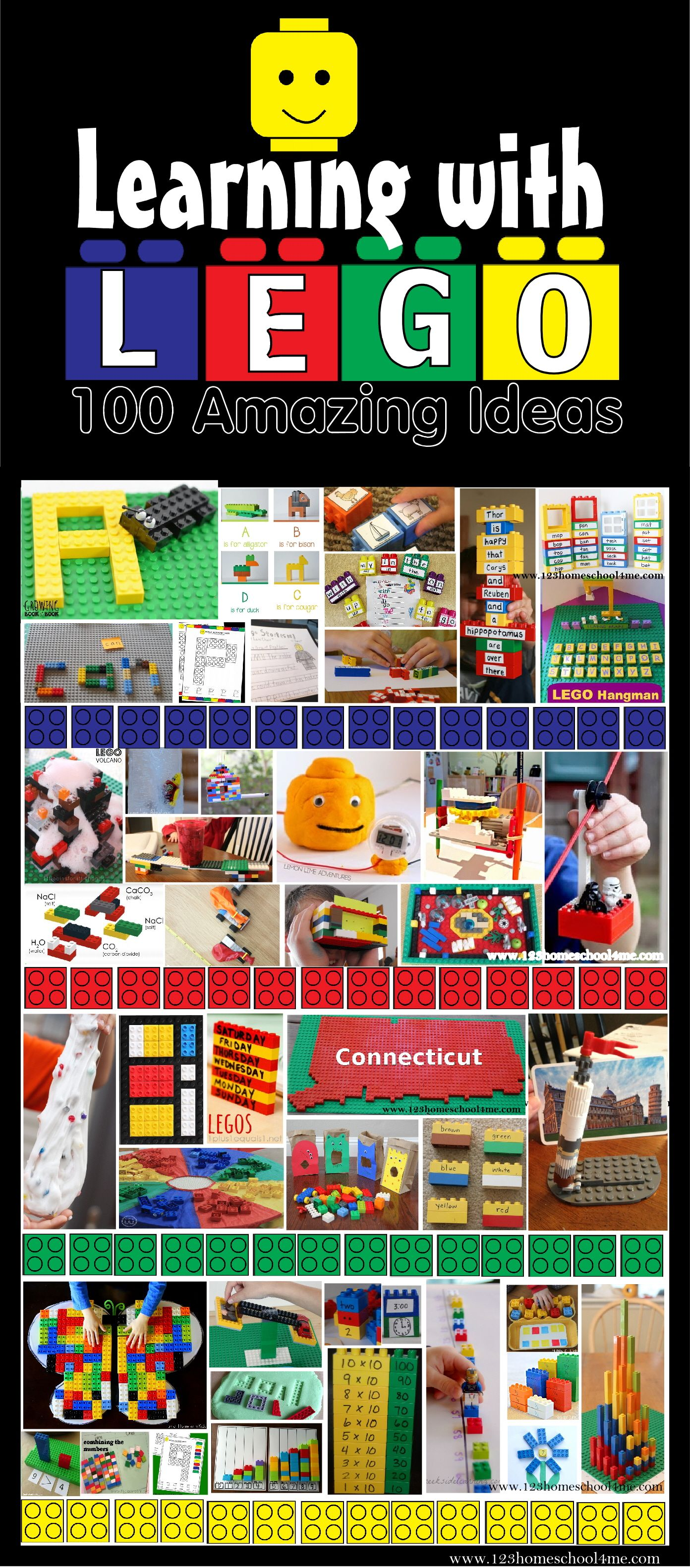 100 Ideas For Learning With Lego