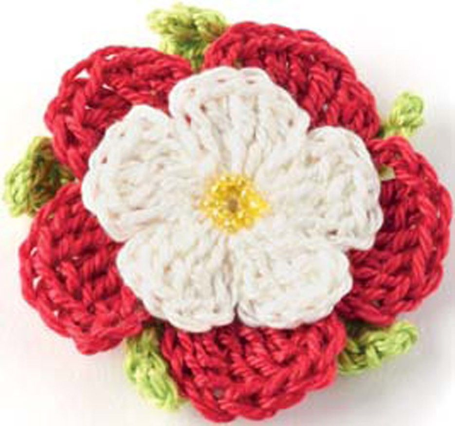 Crocheted flowers tudor rose pattern for purchase crochet crocheted flowers tudor rose pattern for purchase bankloansurffo Images