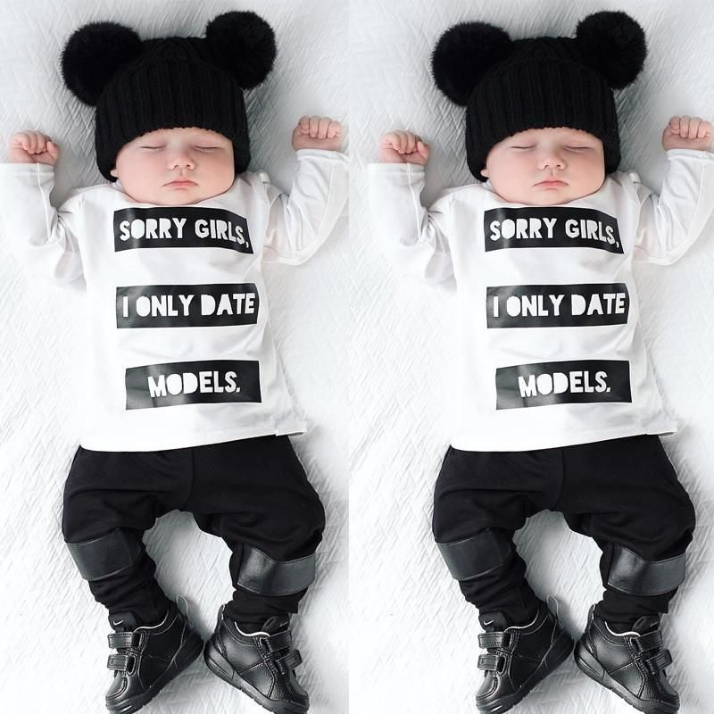 Models Only Baby Boy T Shirt Newborn Outfits Boy Outfits