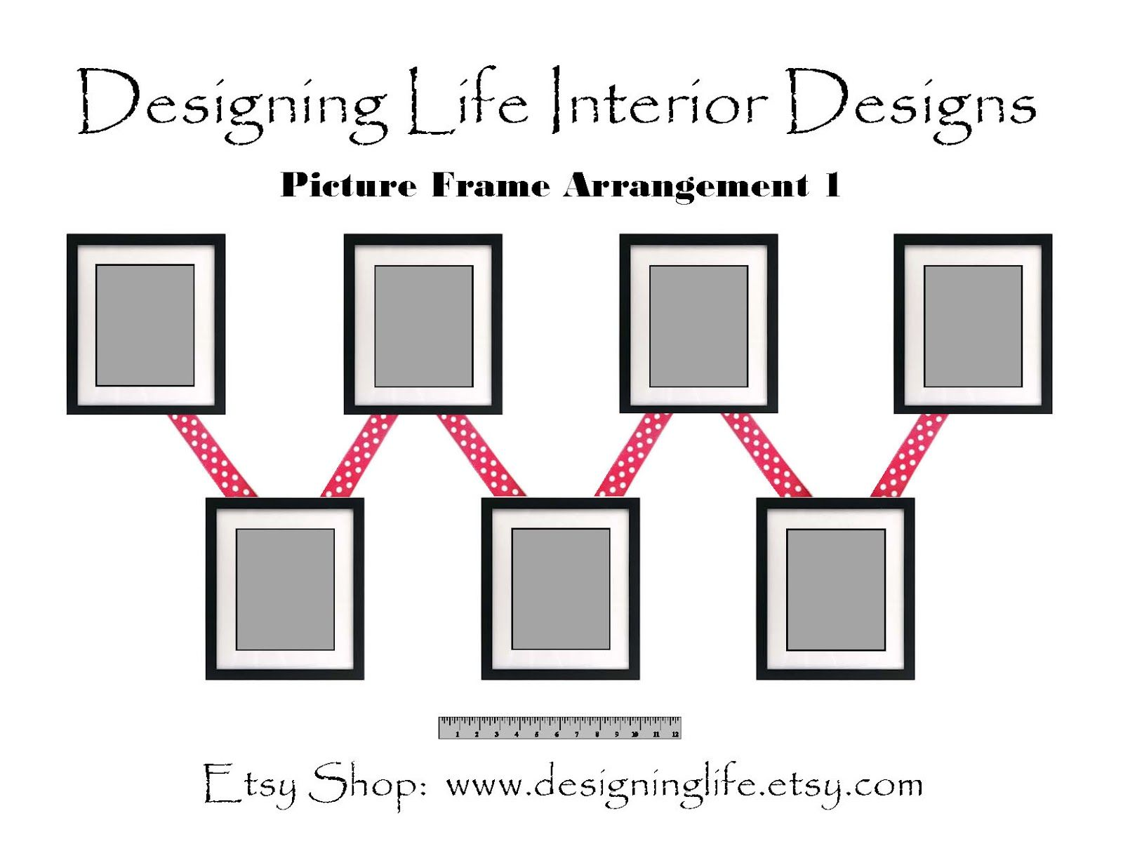 Designing Life How To Arrange Picture Displays On A Wall