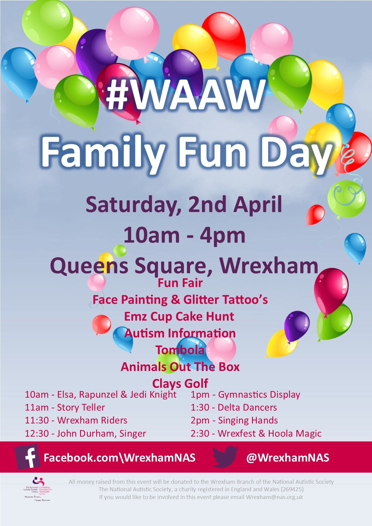 Fun Day for WAAW from Wrexham NAS EventsnWales The Wrexham