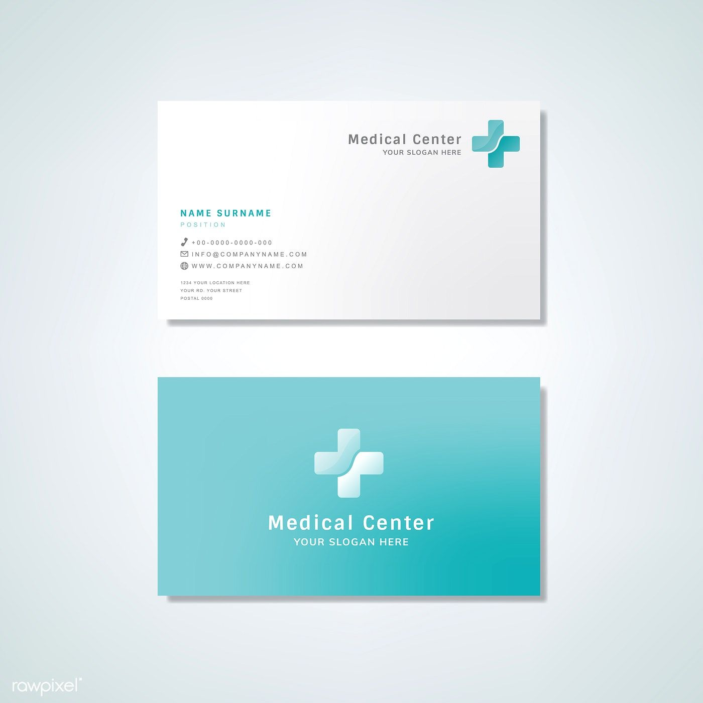 Medical Professional Business Card Design Mockup Free Image By Rawpixel Com Medical Business Card Design Business Card Mock Up Medical Business Card
