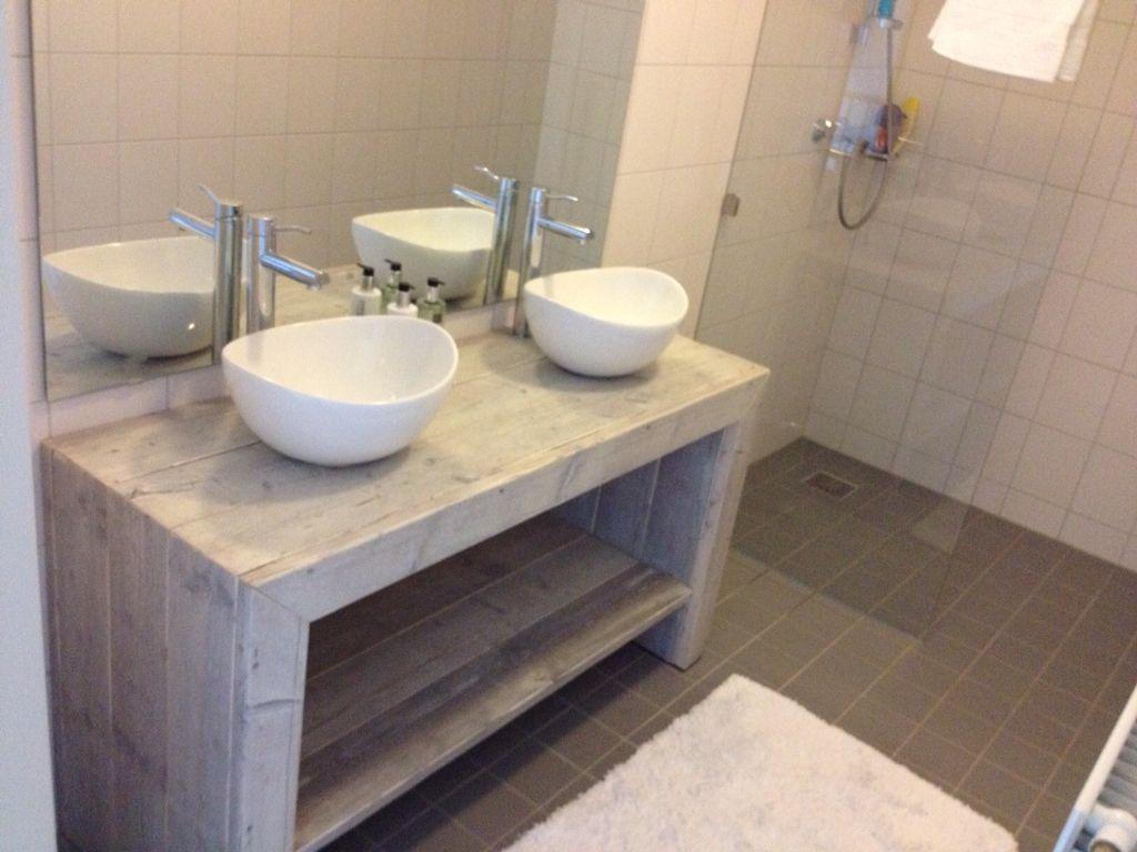 Kast Badkamer Steigerhout : Steigerhout kast badkamer badkamer badkamer kast