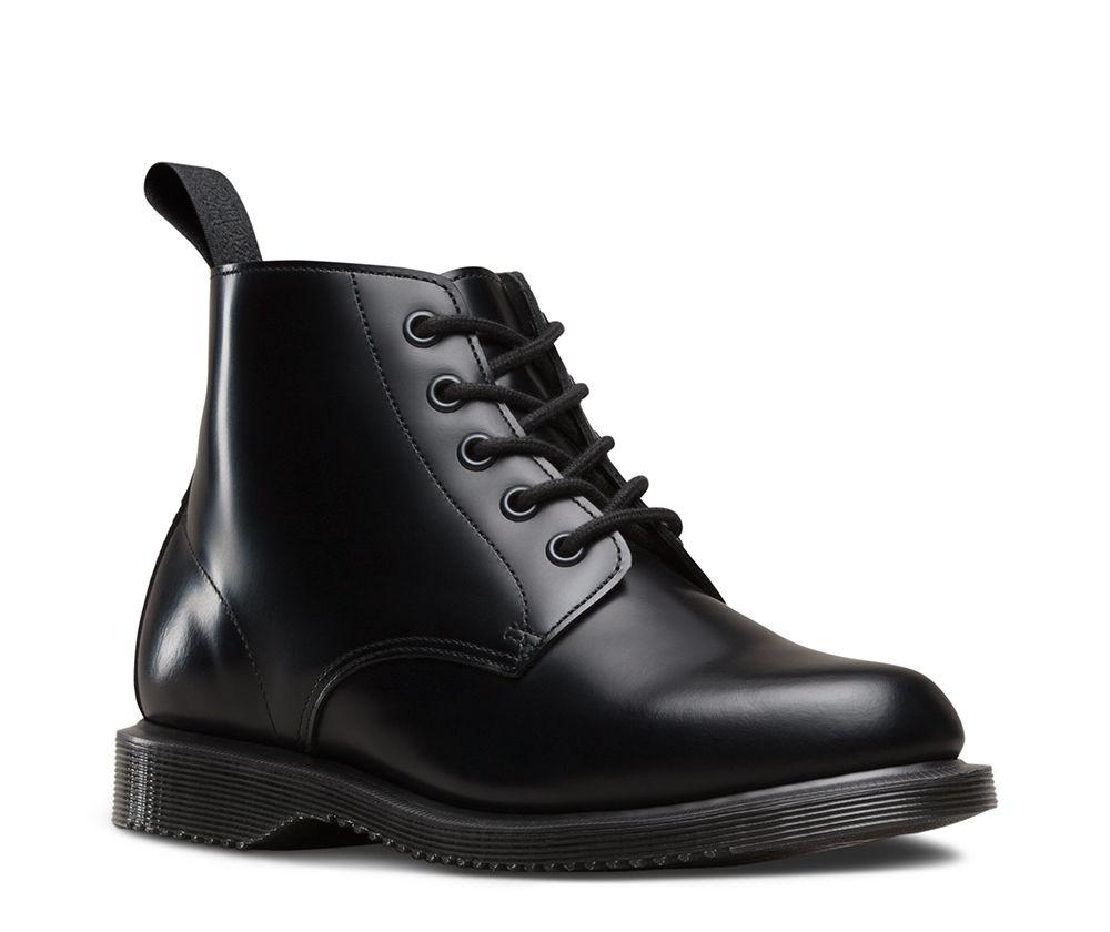 dr martens emmeline polished smooth shoe pinterest chaussure chaussure montante et martens. Black Bedroom Furniture Sets. Home Design Ideas