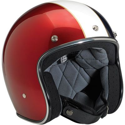 Biltwell Bonanza Open Face Motorcycle Helmet   Riding Apparel   Jake Wilson....Paying home to vintage style with all the benefits of modern technology!  Express Yourself!