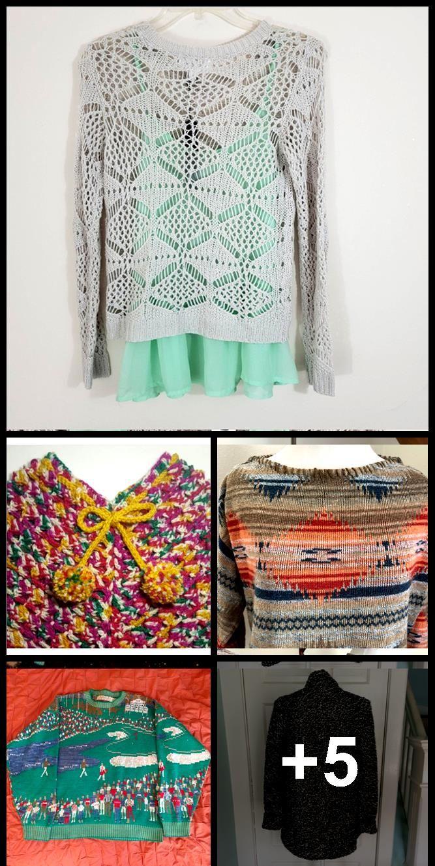 Stitch Fix Olive + Oak Layered Sweater Dies ist ein offener Strickpullover über ... ,  #Dies ... #stitchfix