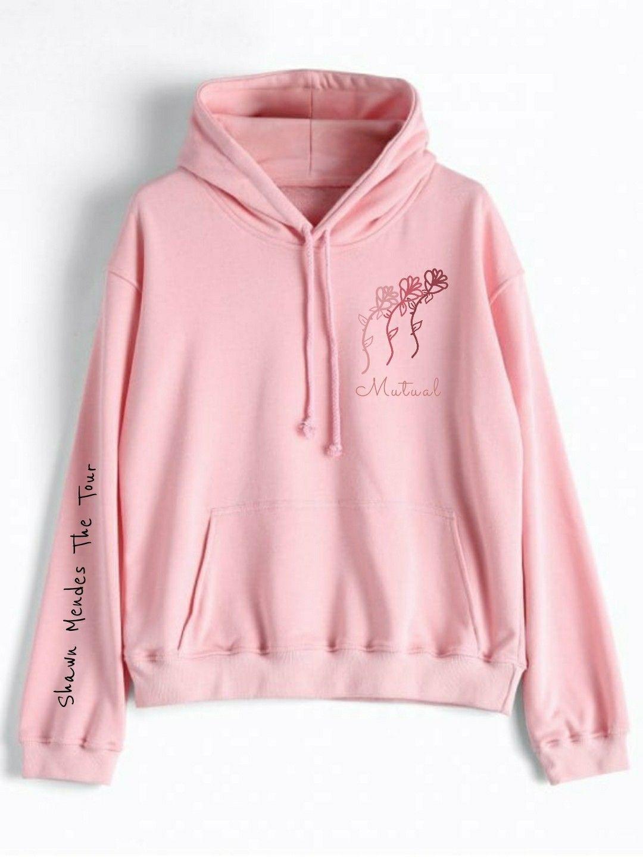 944a6e75f2c  Shawn  Mendes  Tour  Merchendaise  ShawnMendesTheAlbum  Design  Pink   Sweatshirt
