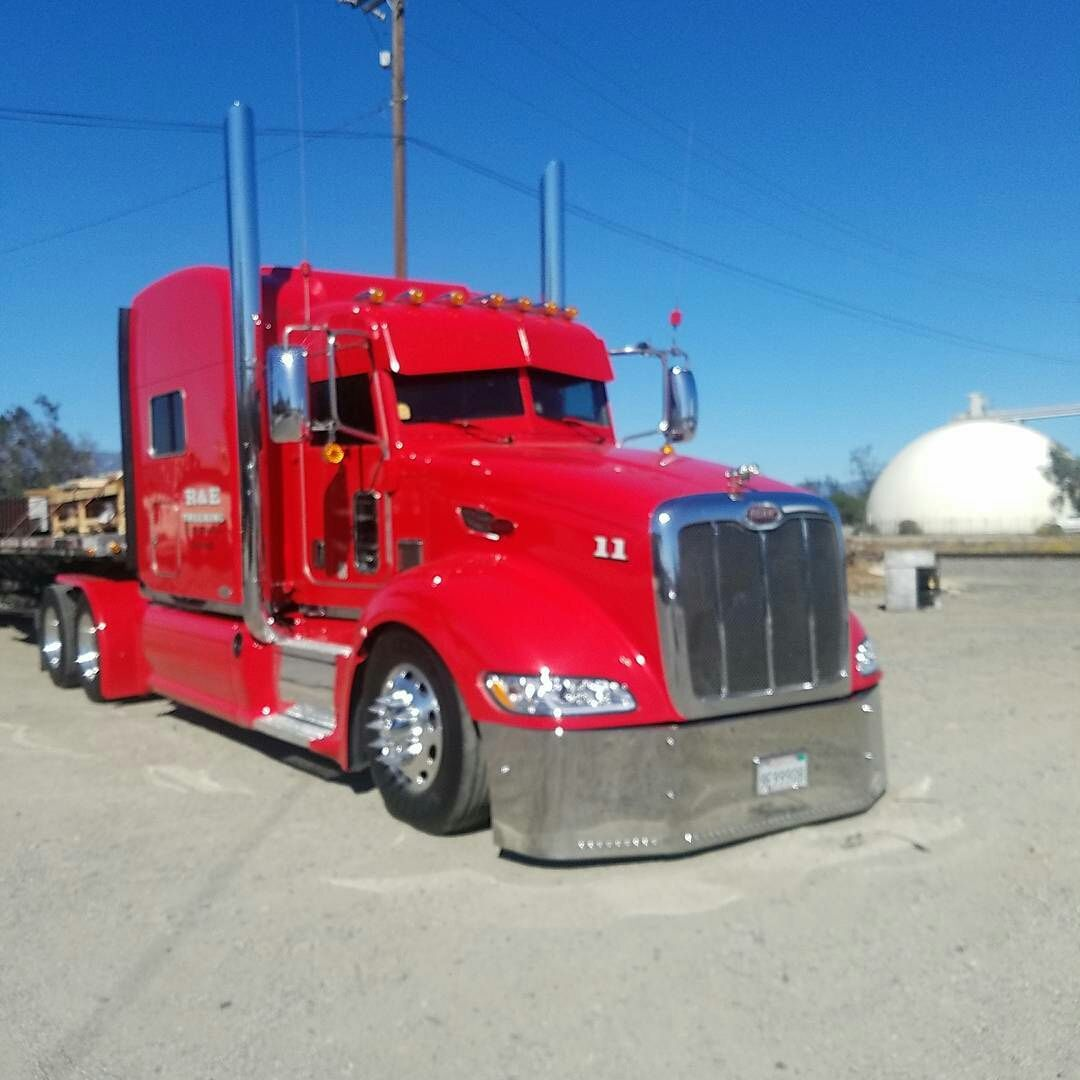 Peterbilt Custom 579 Custom Big Rigs Peterbilt Big Trucks