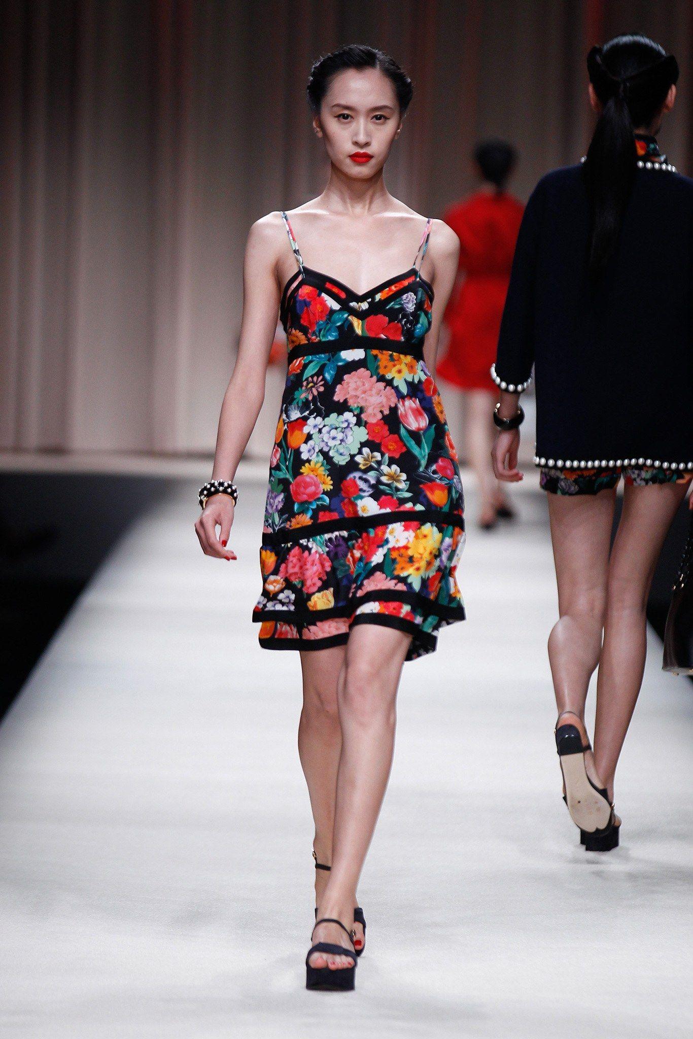 Moschino Resort 2014 Fashion Show