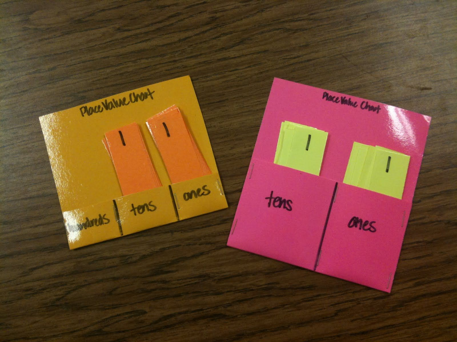Place Value Charts To Make