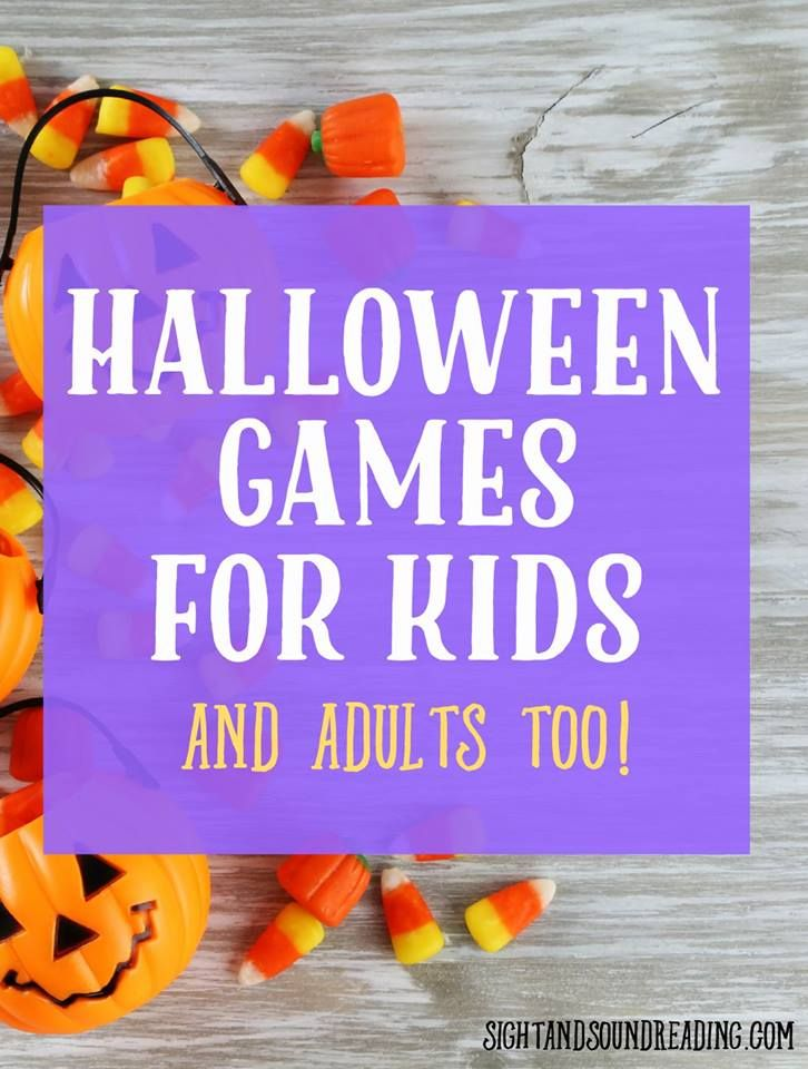 Halloween Game for Kids - Fun for everyone! Halloween games, Plays - halloween party ideas games