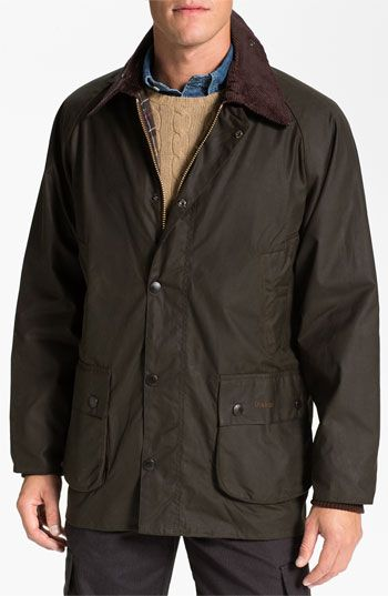 Barbour Bedale Relaxed Fit Waterproof Waxed Cotton