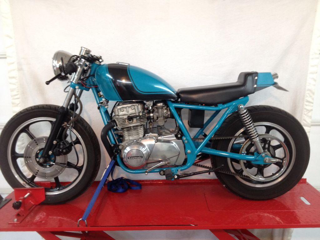 81 kz440 | cafe racer builds | pinterest | cafe racer build