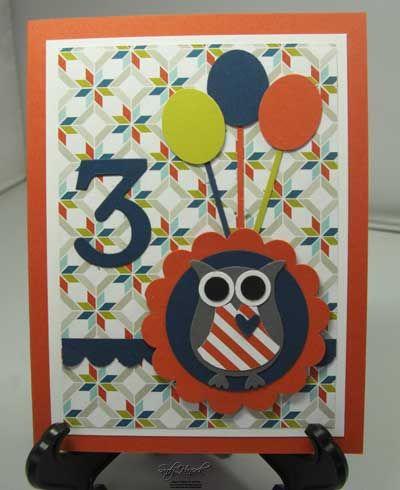 Owl circle card