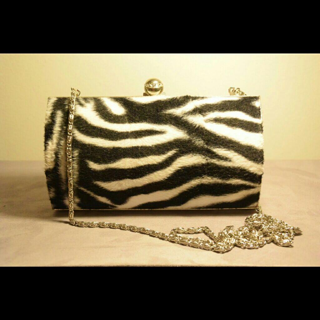 Zebra Evening Bag