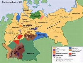 German Empire 1871 Map Pomeranian Region Poland Poland Map