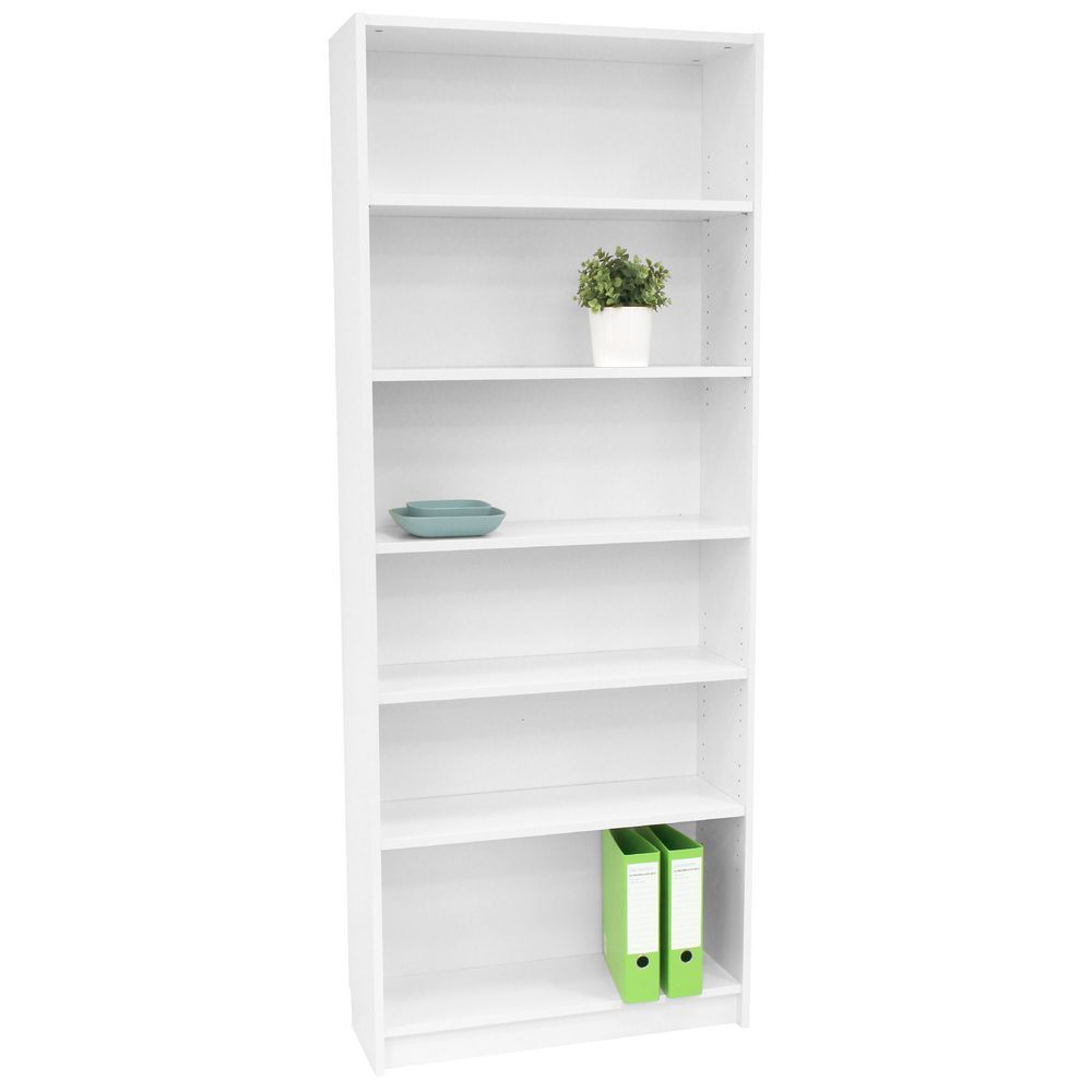Orson 6 Shelf Bookcase White A Place To Display My Things