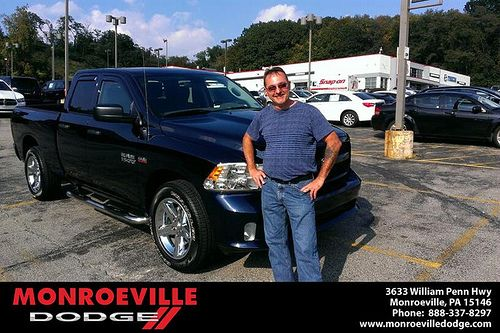 Thank you to Kipp  Welteroth on your new truck  from Eldred Obodai and everyone at Monroeville Dodge! #LoveMyCar