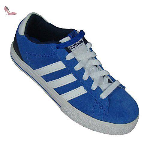 best service c03ce 6c2fc Adidas - Neo ST Daily LO K - F38045 - Couleur Blanc-Bleu -