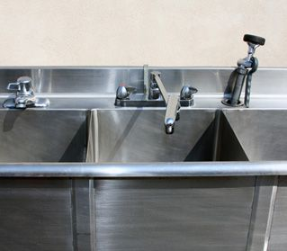 Hot/Cold Sinks for Special Events Portable restrooms