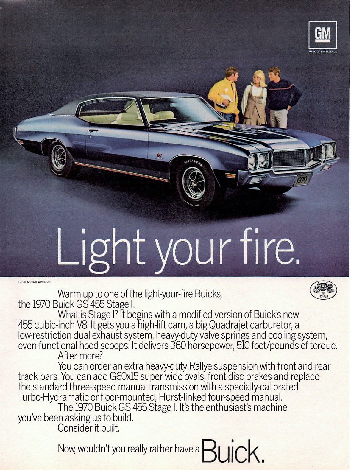1970 buick gs 455 stage 1 americaines pinterest voiture. Black Bedroom Furniture Sets. Home Design Ideas