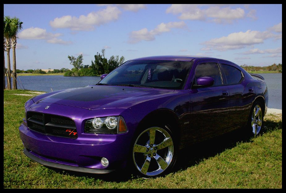 2007 Dodge Charger Rt In Plum Crazy Purple Only 1 400 Total Ever Made And I Own 533 Dodge Charger Dodge Charger Daytona Mopar Cars