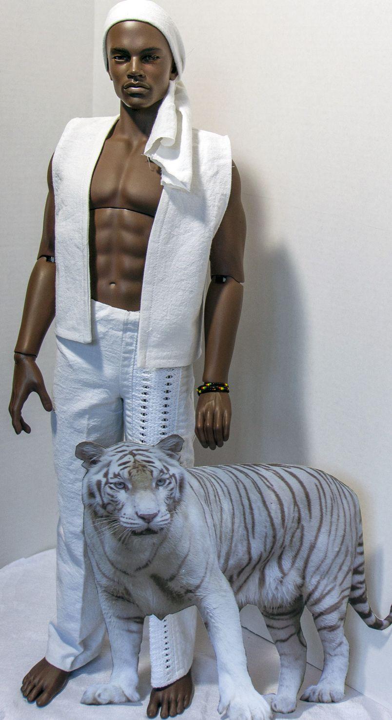 OOAK Male Fashion Doll.