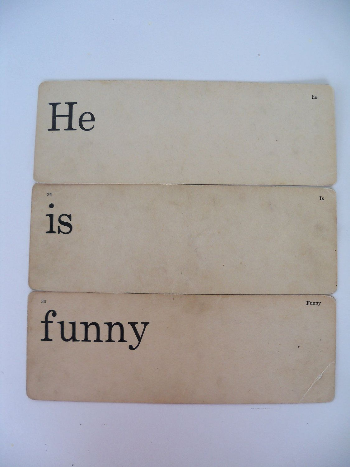Dick and jane flashcards