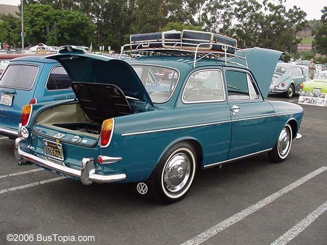 Volkswagen Type Iii Notchback Sedan Painted Sea Blue Vw