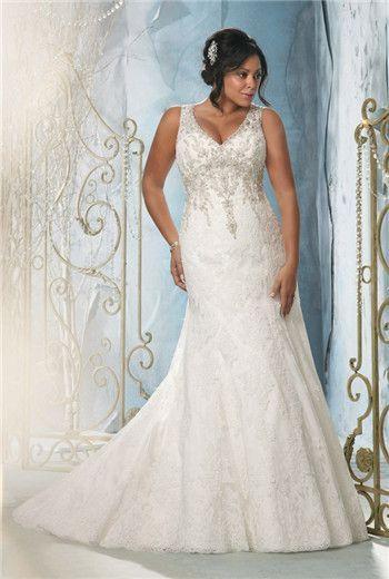 67b7fa0eb4d plus size wedding dresses Brudekjoler Plus Størrelse, Bryllupskjoler,  Brudekjoler, Brudepigekjoler, Elegant Brudekjole