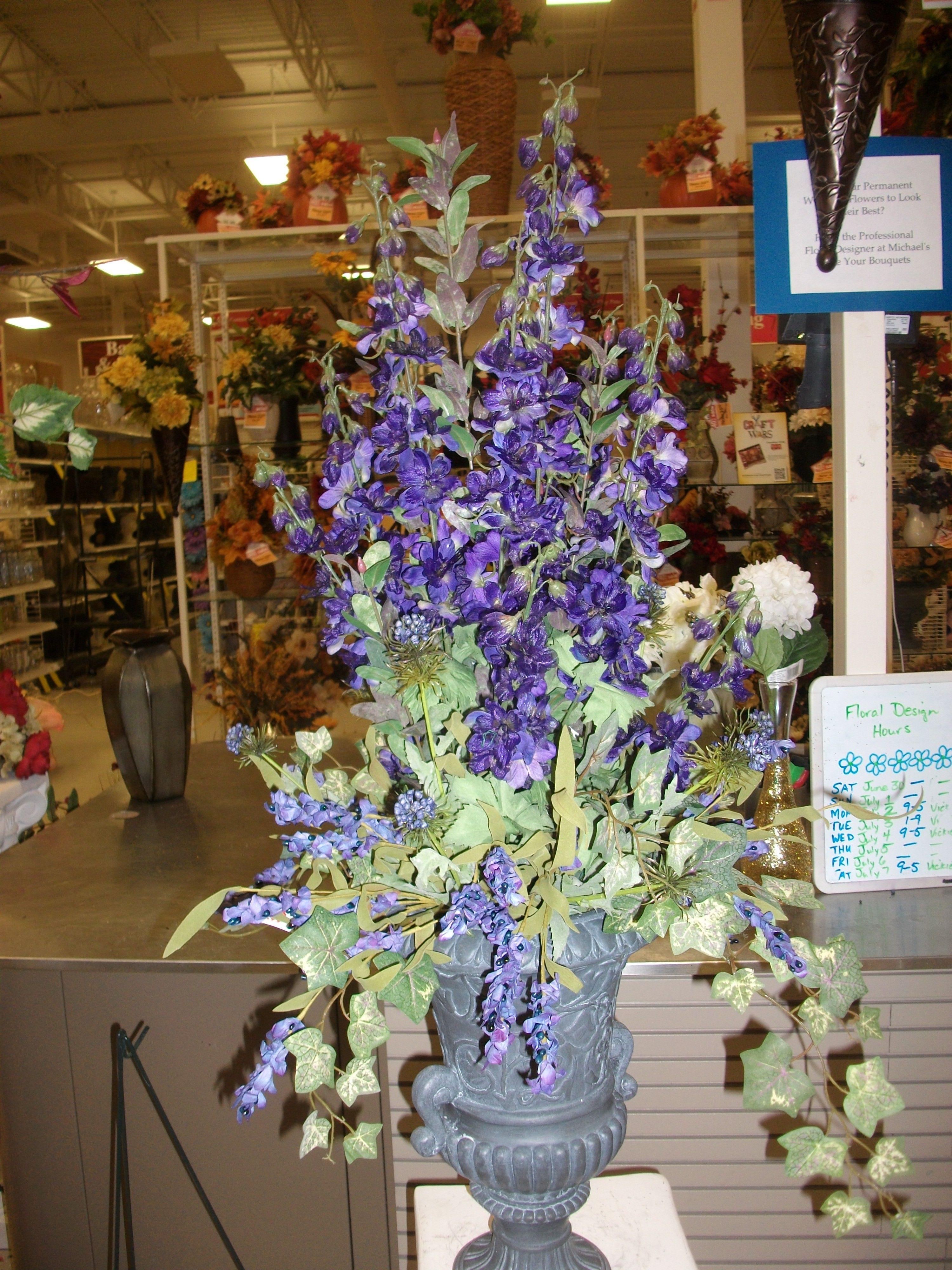 Delphinium Urn Everyday Pinterest Delphiniums And Flowers