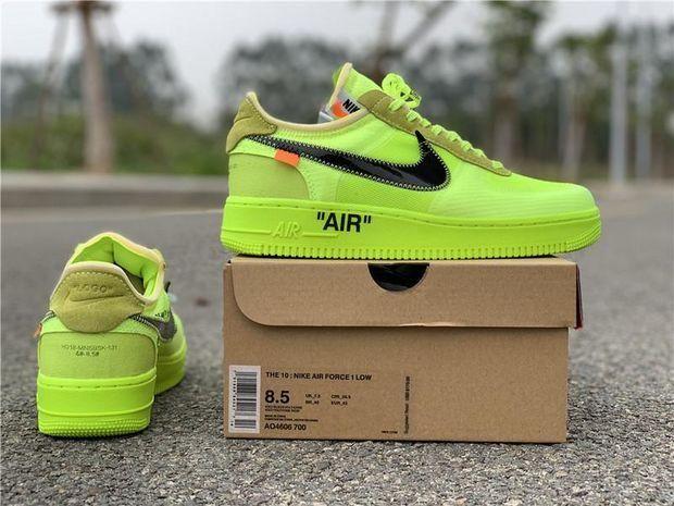 OFF WHITE x Nike Air Force 1 Volt | Abbigliamento, Vestiti