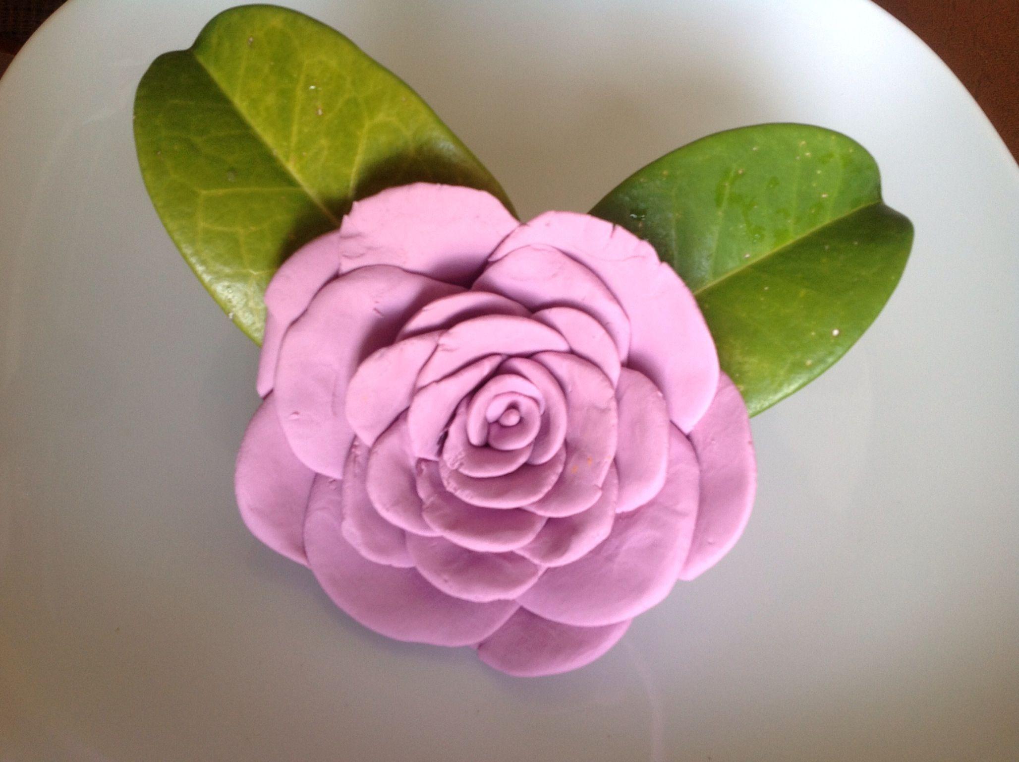 Play dough flower :D