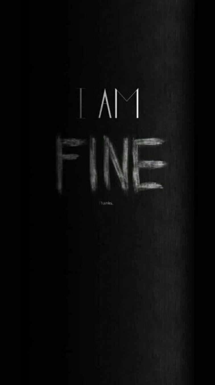 Self Reminder Black Hd Wallpaper Dark Wallpaper Iphone