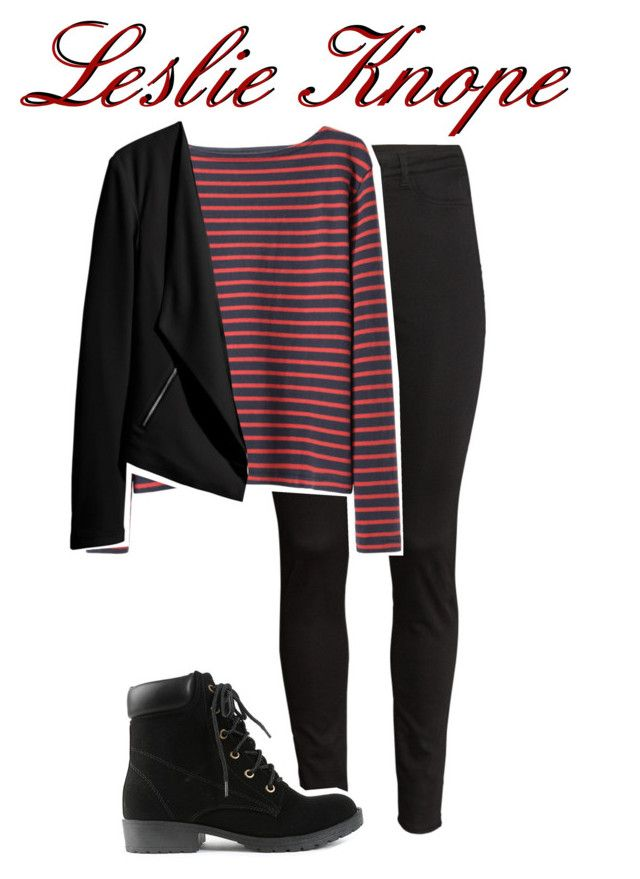 """Leslie Knope"" by ruth127 ❤ liked on Polyvore featuring H&M and Wood Wood"