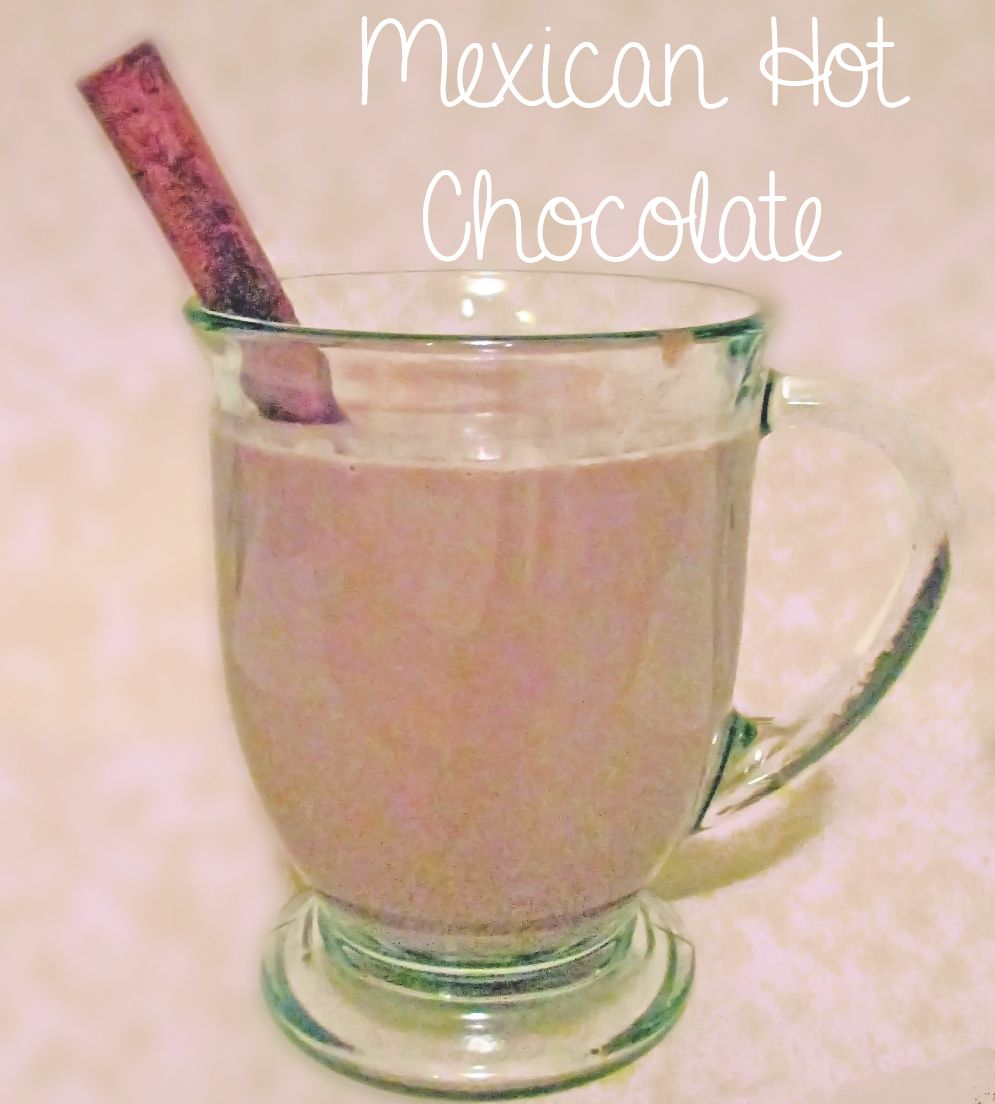 I have been waiting for the weather to start getting cooler so I can make one of my favorite fall/winter drinks.  Hot Chocolate! But not just any hot chocol