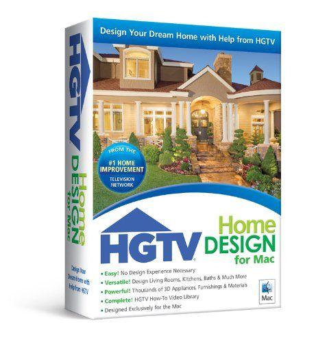HGTV Home Design for Mac Common Shopping Pinterest Home design