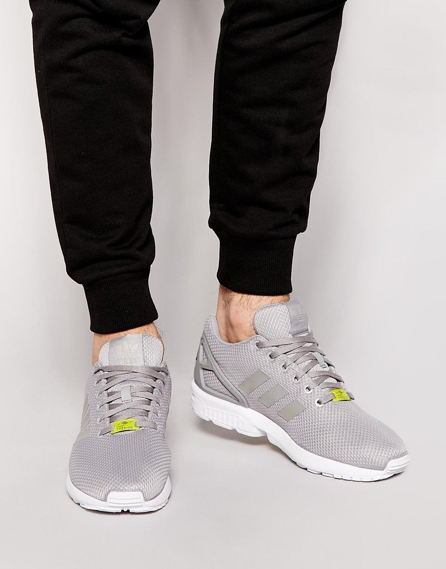 cheap adidas zx flux trainers on asos shoes men's