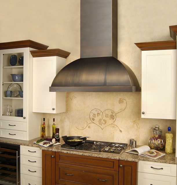 Range Hoods, Quiet Kitchen Exhaust Fans, Range Hood Inserts. Design Tips