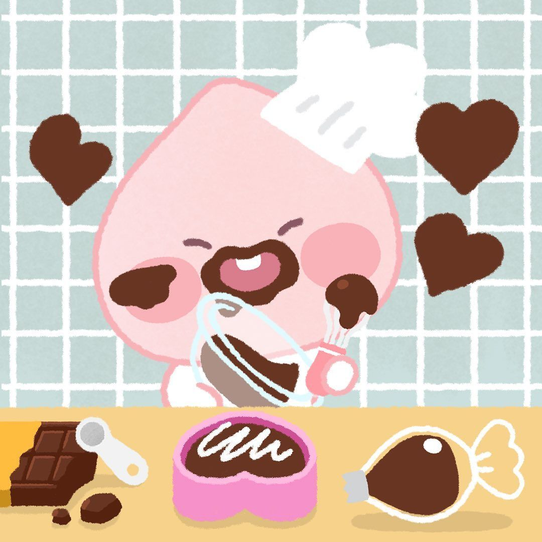Kakao Friends Little Apeach ในปี 2020 ภาพวาดดิสนีย์
