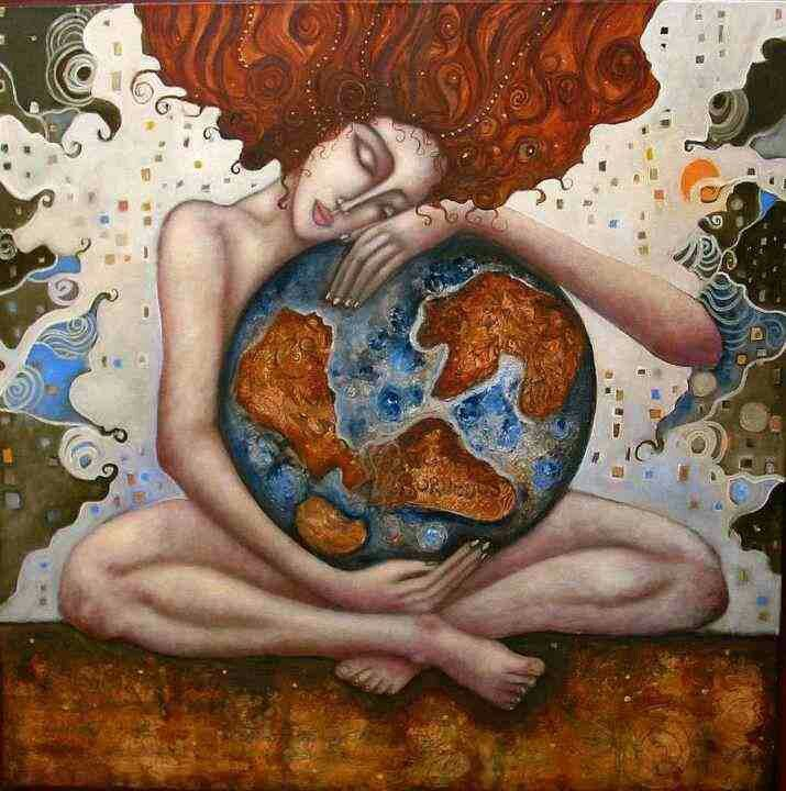 Pin by Gaia Lovey on O • my • Goddess!   Mother earth, Earth art, Art
