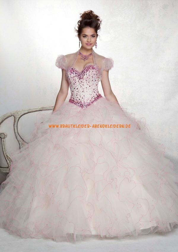 Luxuriöse Abendkleid Ballkleid für Prinzessin wunderschön ...