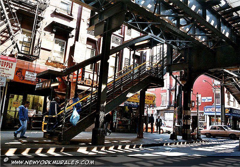 Foto Murales New York.Bronx New York Bronx Landscape Bronx The Bronx New
