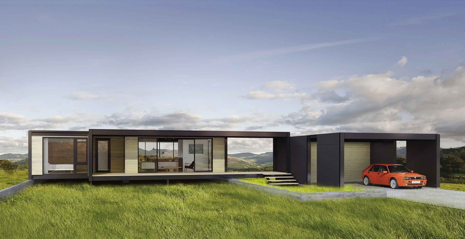 Backyard Cottage Prefab Design House Plan Affordable: Gallery Of Connect:Homes Offers Affordable, Modern