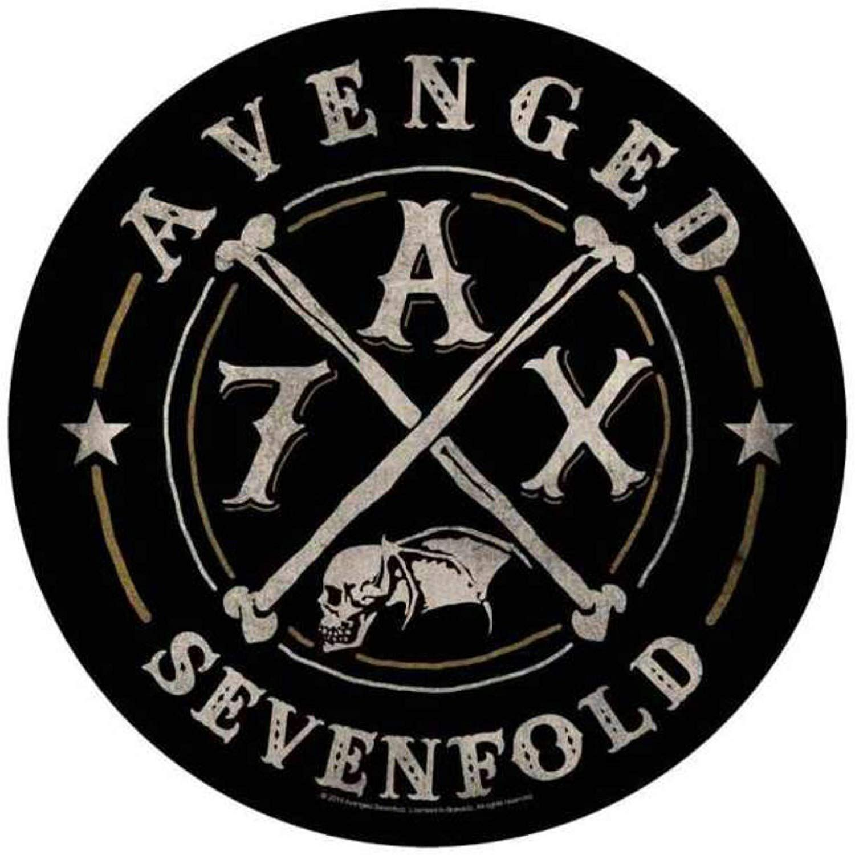 Avenged Sevenfold A7X Backpatch Amazon.co.uk Clothing
